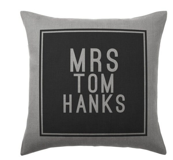 Cool Gifts for A Movie Buff-Tom Hanks Pillow Cushion