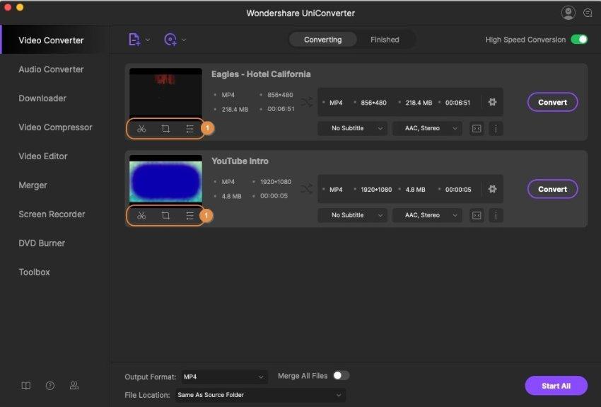 editar vídeos em DVD opcional