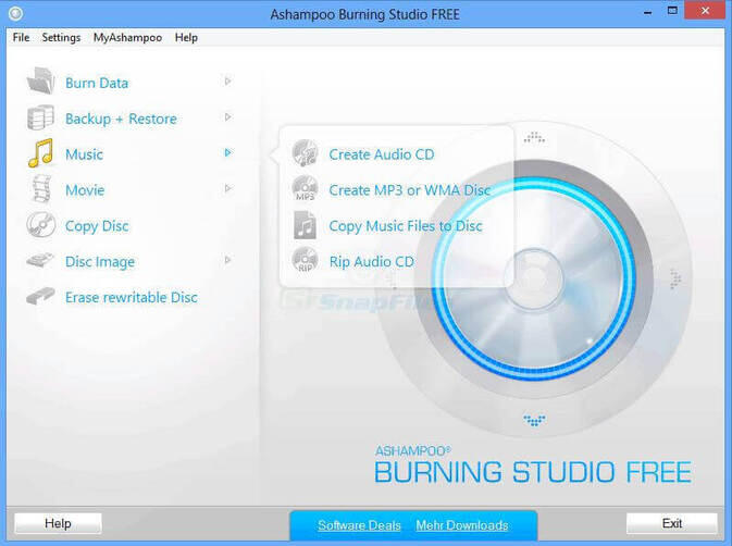 DVD Burning Software - Ashampoo Burning Studio