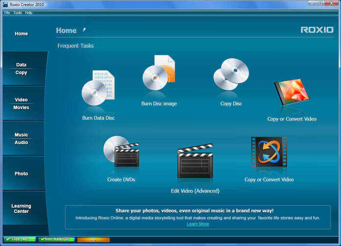 Top 3 DVD Burning Software for Windows 7 & Windows XP - Roxio MyDVD
