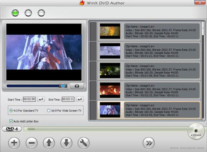 DVD Makers for Windows 10 - WinX DVD Author