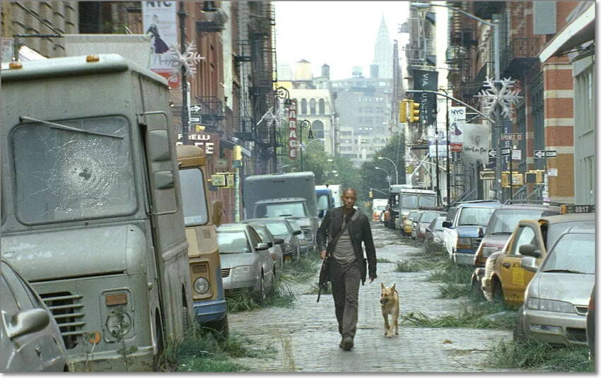 dvd review for I Am Legend