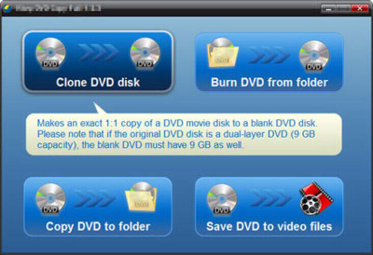 Copy DVD to DVD Free