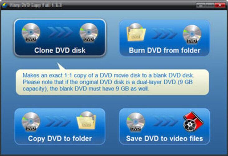 Copia DVD su DVD Gratuitamente