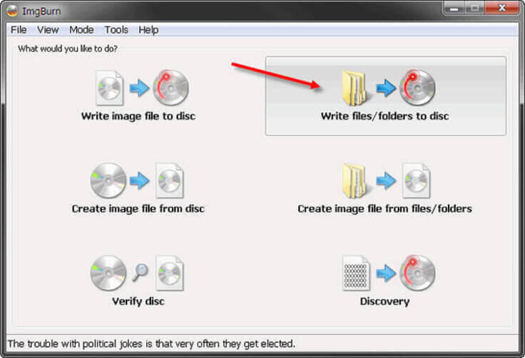 Best ISO to DVD Burner Software - ImgBurn
