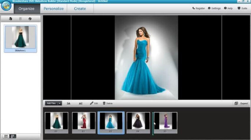 Make a Slideshow with DVD Slideshow Builder Deluxe - Step 3