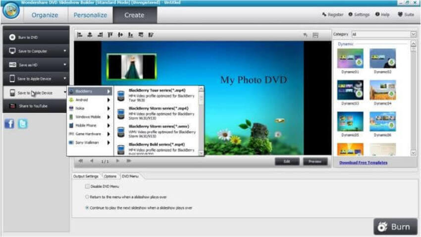 Make a Slideshow with DVD Slideshow Builder Deluxe - Step 5