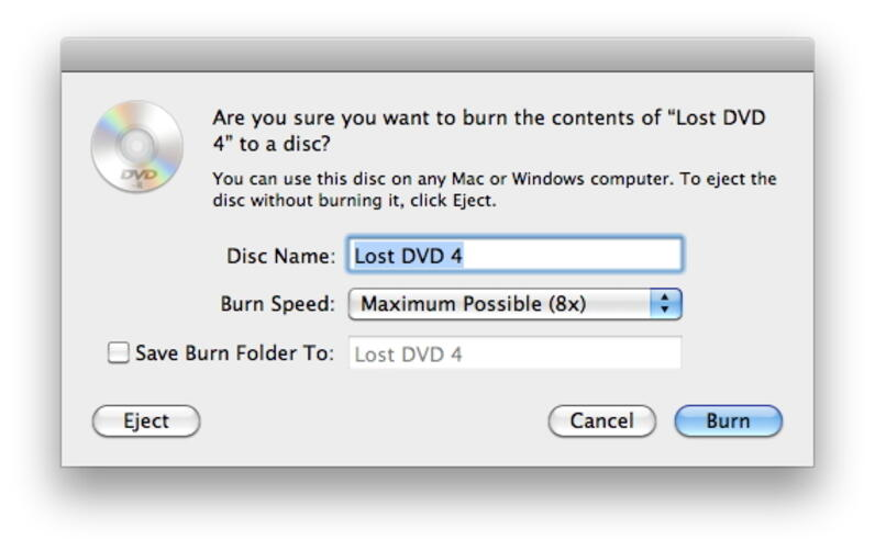 filme kostenlos in Mac auf DVD brennen