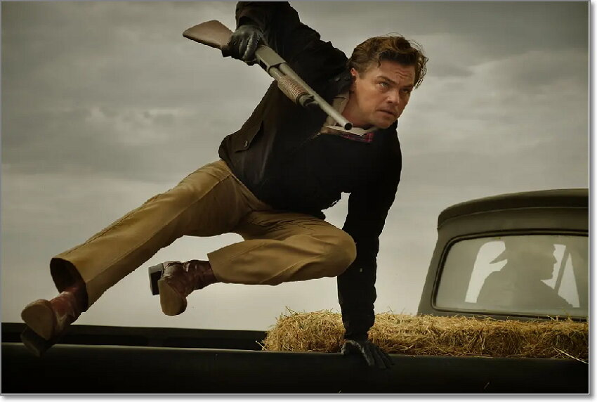 dvd review for Once Upon a Time... in Hollywood
