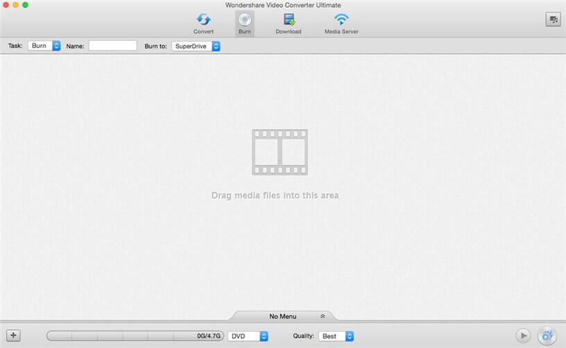 Free DVD Burner Program for Mac