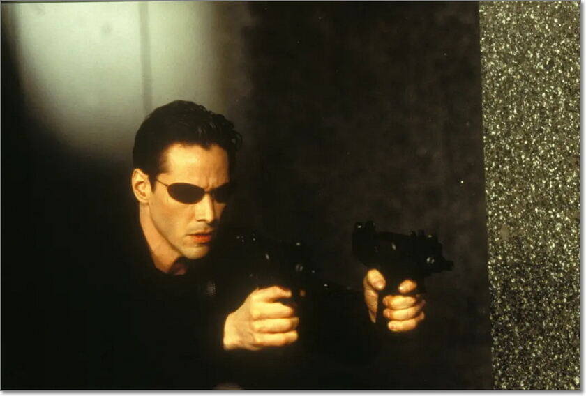 dvd review for The Matrix