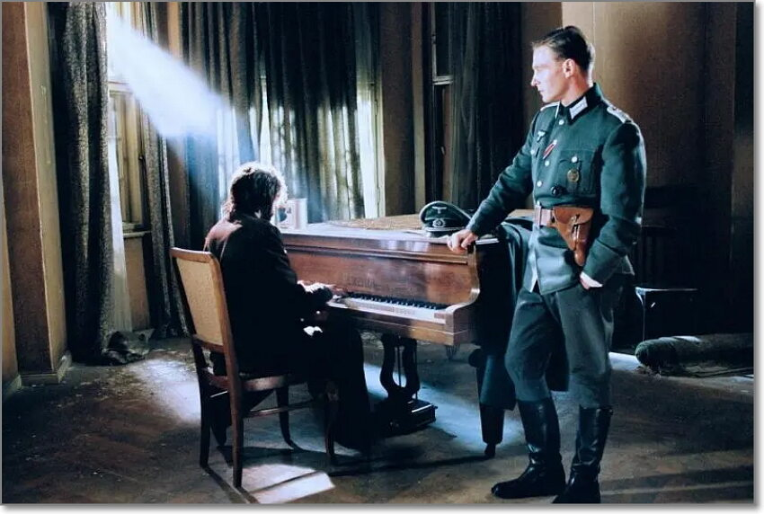 dvd review for The Pianist