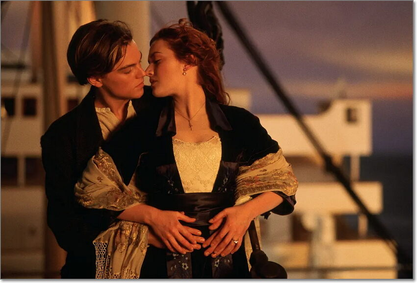 dvd review for Titanic
