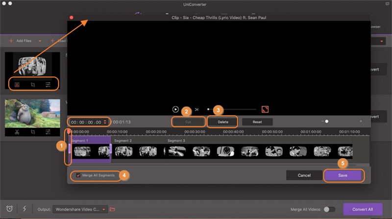 trim and cut videos on apple video editing