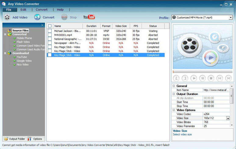 flv to webm converter-any video converter