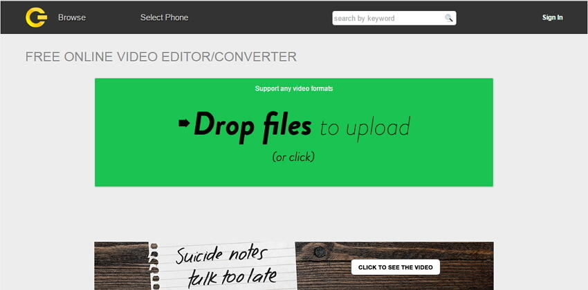 Cellsea Converter -Flv zu MOV online converter