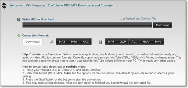 online flv converter-clipconverter