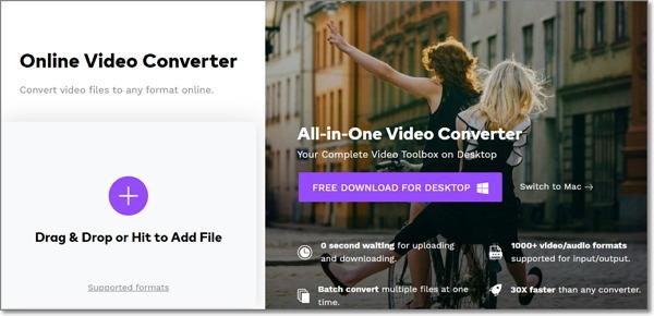 convert FLV to DivX online-Online UniConverter