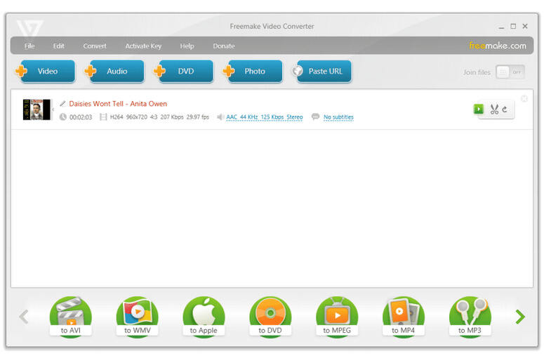 Free Video Converter by Wondershare: Convert Video/Audio