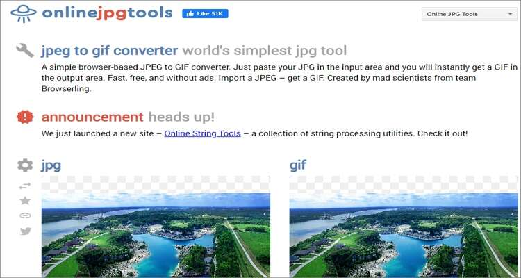 Image to GIF Online Converter-Online JPG Tools