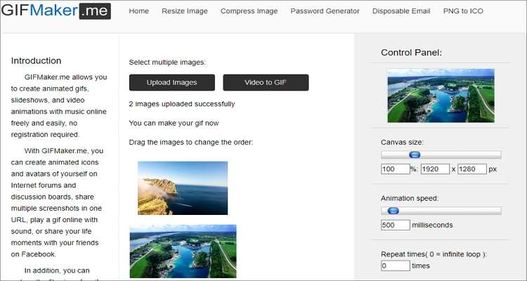 Image to GIF Online Converter-GIFMaker