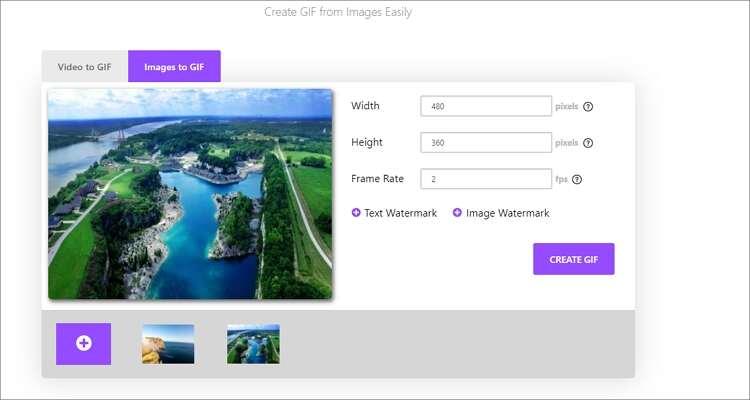 Image to GIF Online Converter-Online UniConverter