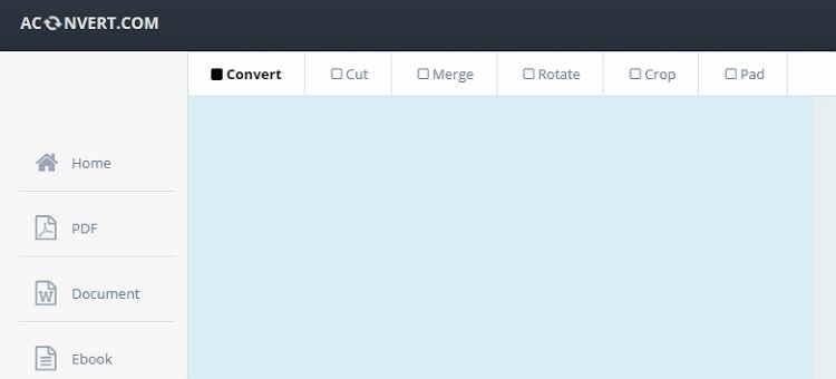 MKV to GIF Online Converter-AConvert
