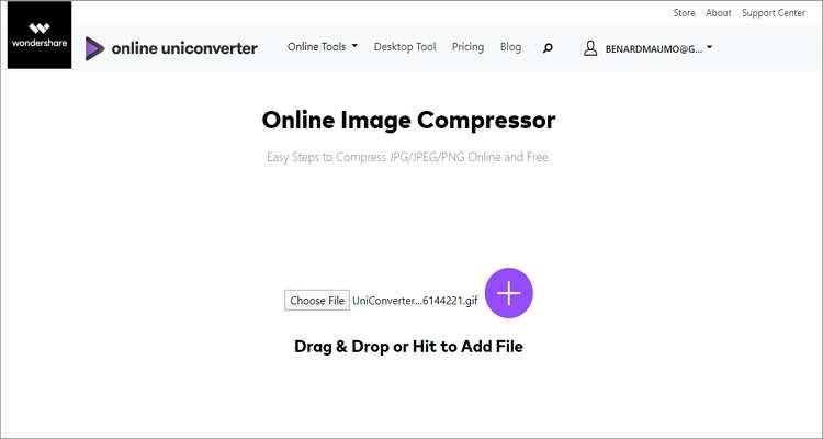 Online GIF Compressor -Online UniConverter