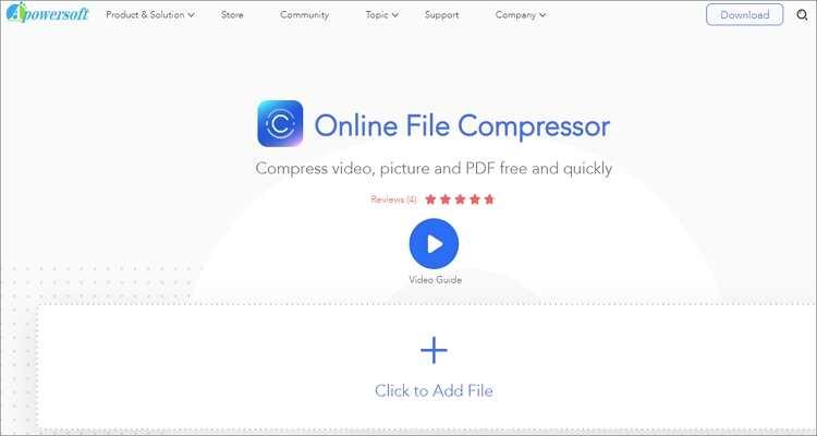 Online GIF Compressor -Apowersoft