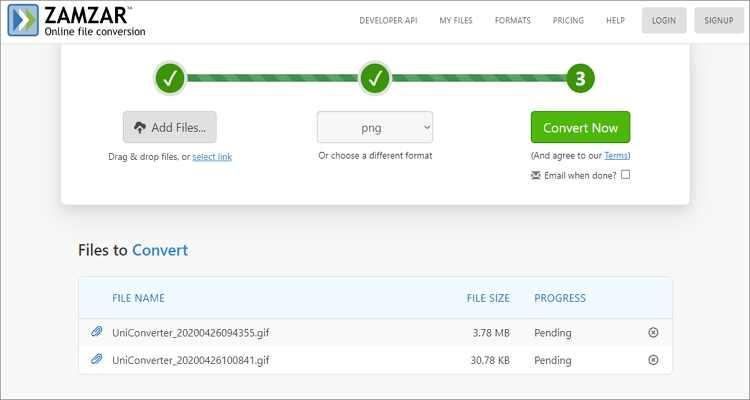 Convert JPG to GIF Online Free -Zamzar