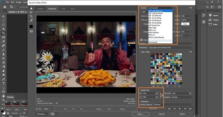 adjust file size in photoshop