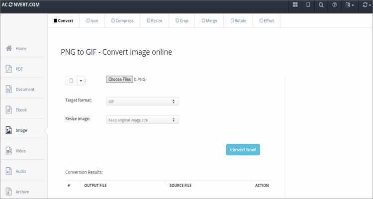Convert WebM to GIF Online Free -Avonvert