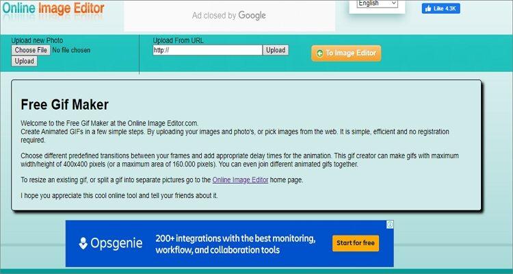 Editor on-line de GIF animado-Editor de imagens on-line