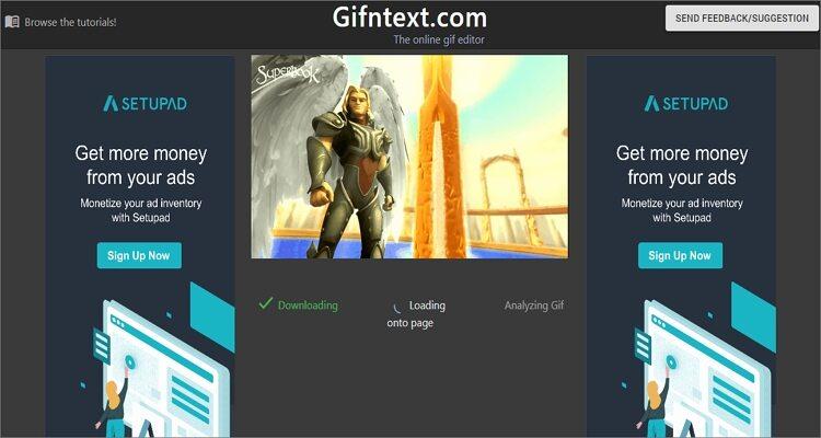 Animated GIF Online Editor-Gifntext