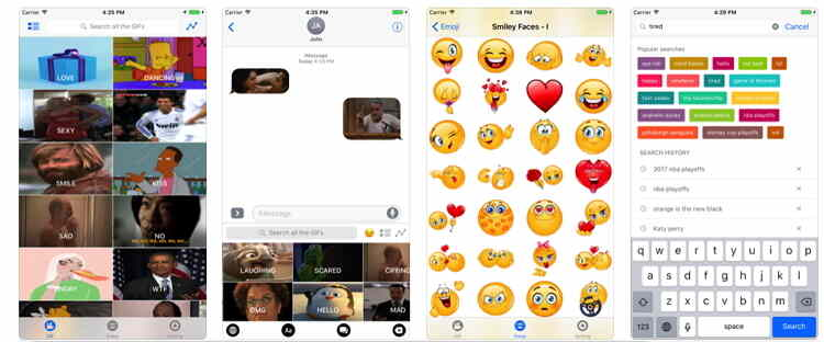 Convert iPhone Video to GIF Online Free -GIF Keyboard for iPhone