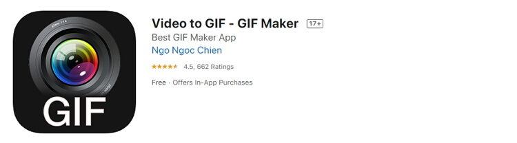 Free Video to GIF iPhone Converters -Video to GIF – GIF Makers
