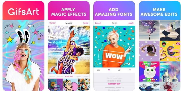Make a GIF for Instagram -PicsArt GIF & Sticker Maker