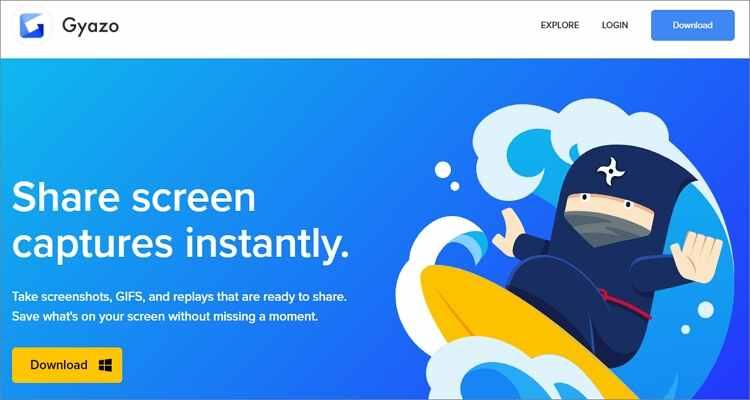 Screen to GIF Converters Online Free-Gyazo
