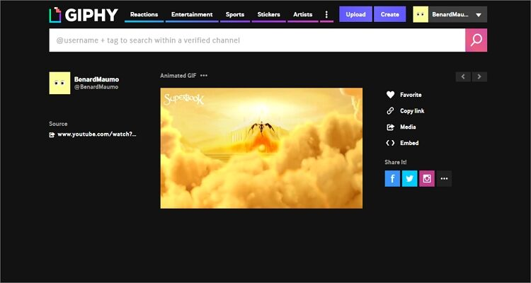 Make YouTube to GIF Online Free -GIPHY