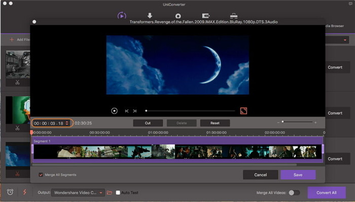 trim video on mac