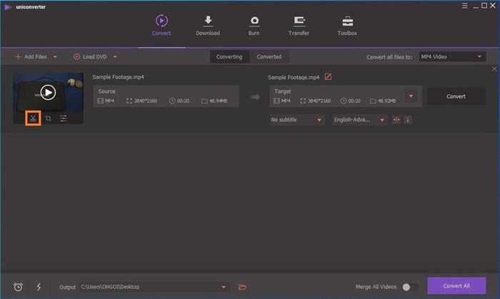 edit the video on gopro app for desktop