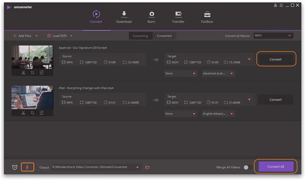 convert or export video