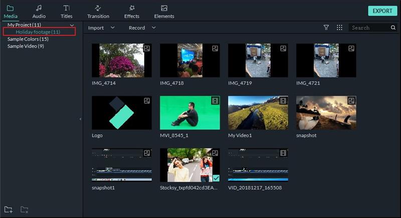 add new folder
