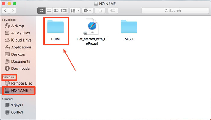 DCMI folder