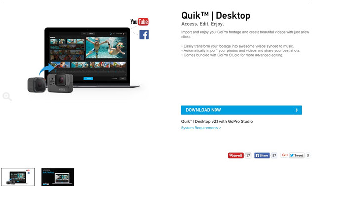 Download GoPro Quik for Mac