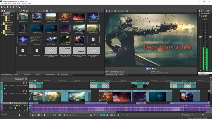 quik video editor with vegas