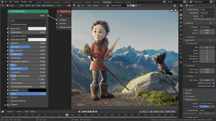 quik video editor with blender