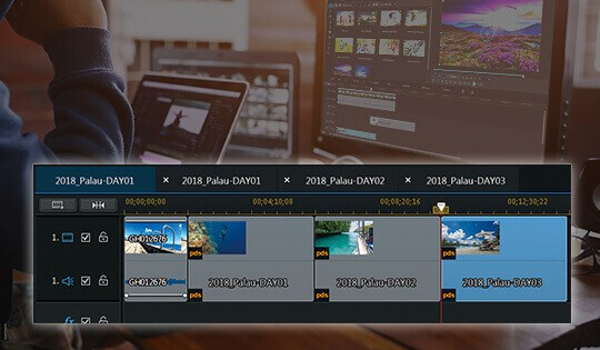 quik video editor with cyberlink
