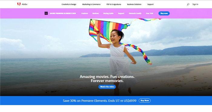 elementos do Adobe Premiere