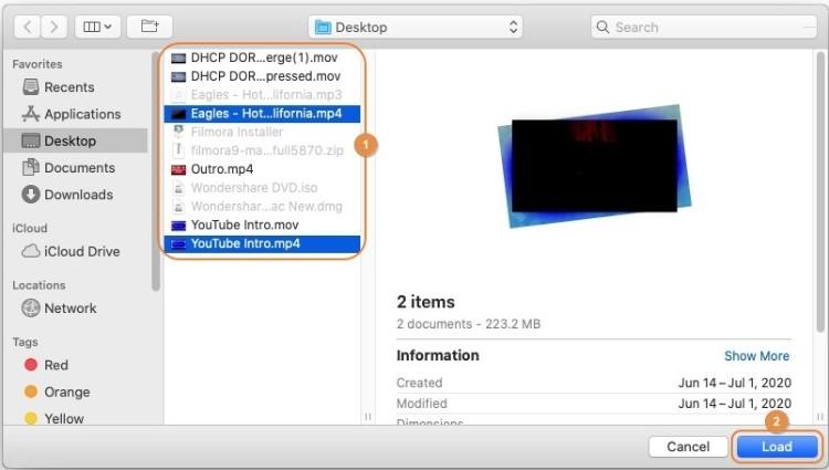 import video to uniconverter